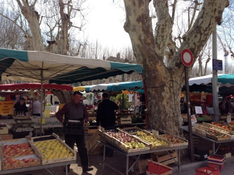 St Tropez Market